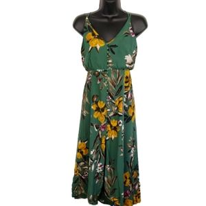 4/$24 Urban Outfitters Dress Green Floral Boho